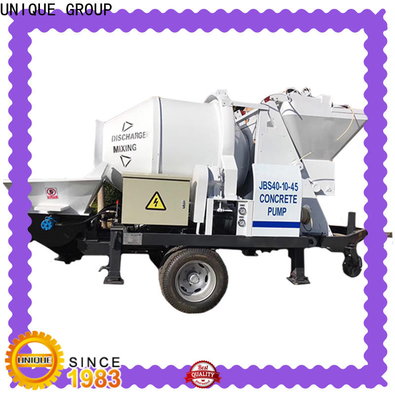 mature concrete pumping machine directly sale for railway tunnels