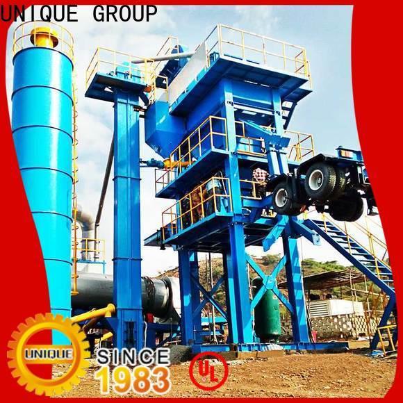 UNIQUE bitumen mix plant manufacturer for city road