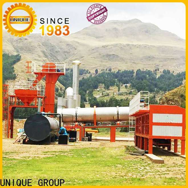 UNIQUE batch mobile asphalt plant factory price for highway