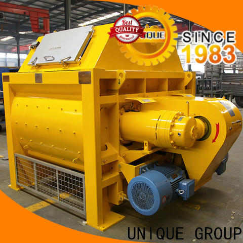 easy use cement mixer equipment with feeding system for light aggregate concrete