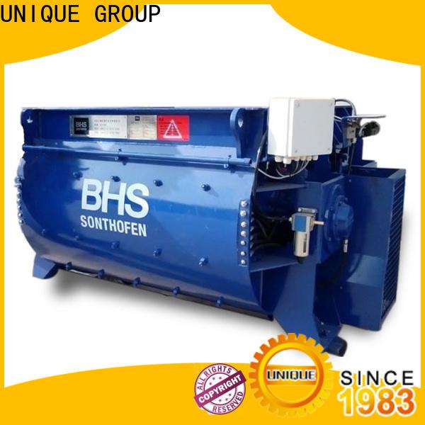 UNIQUE concrete mixing plant with discharging system