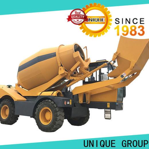 convenient concrete mixer truck automatic feeding