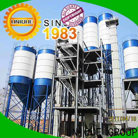 high degree of automation dry mix plant energy-saving for project