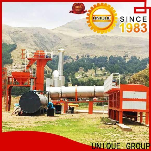 UNIQUE mobile asphalt plant directly sale