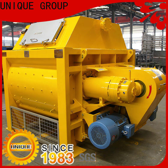 UNIQUE cement mixer machine with discharging system for hard-dry concrete