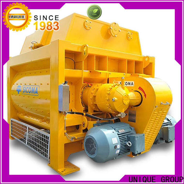 long lasting cement mixer equipment with feeding system for hard-dry concrete