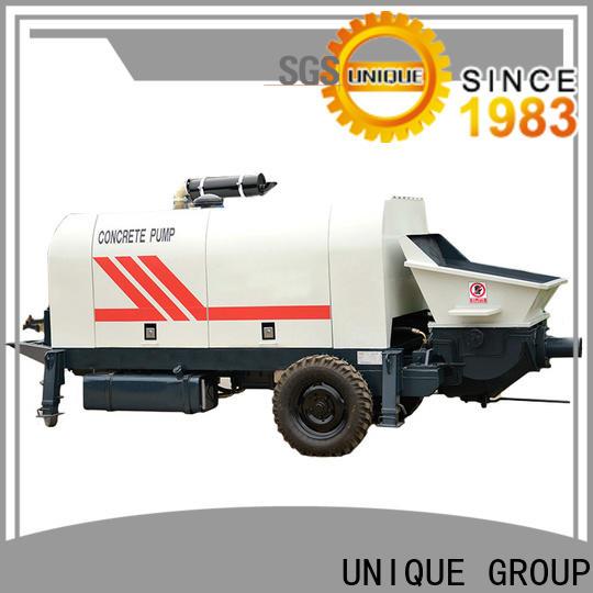 UNIQUE concrete pump machine directly sale for roads