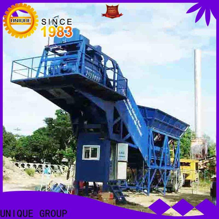 UNIQUE concrete batching plant price manufacturer for building