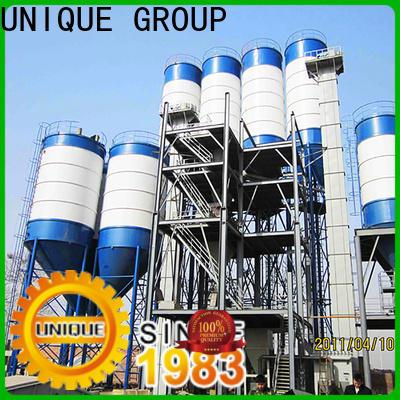 UNIQUE compact structure mortar plant factory sale for project