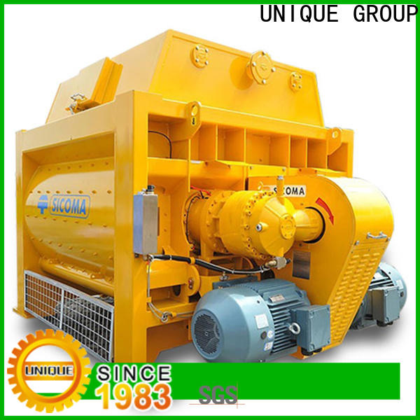stronger mobile concrete mixer with water supply system for hard-dry concrete