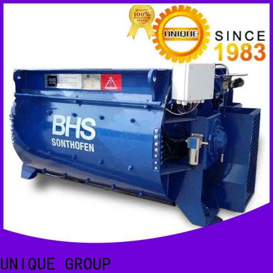 UNIQUE concrete mixer price with discharging system for project