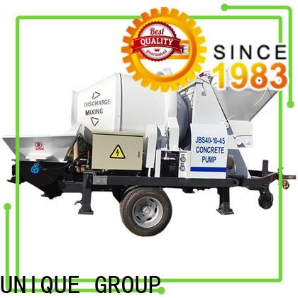 professional concrete trailer pump online for water conservancy