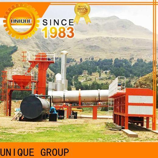 UNIQUE Asphalt Mixing Plant supplier for highway