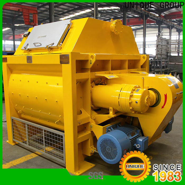 long lasting concrete mixers with discharging system for hard-dry concrete