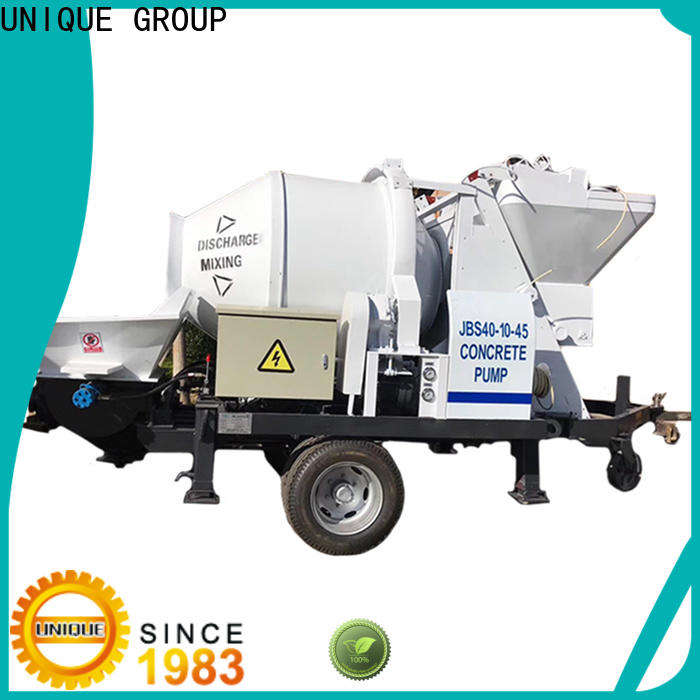professional concrete pump supplier for roads