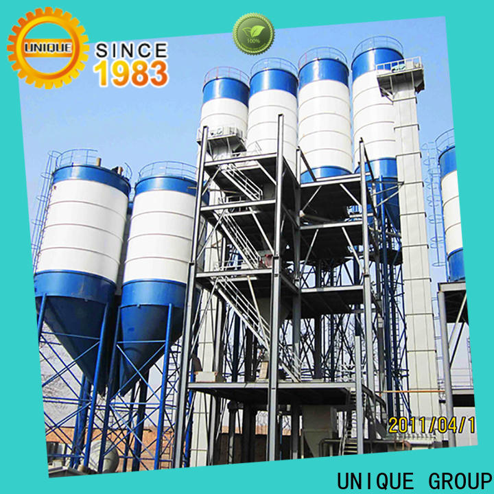 UNIQUE dry mix plant environmental protection for project