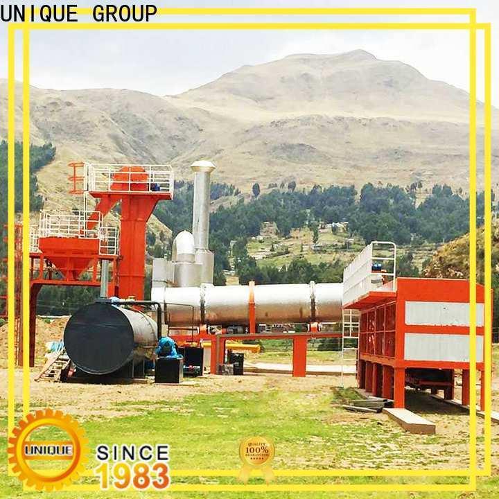 UNIQUE drum asphalt batch mix plant directly sale for highway
