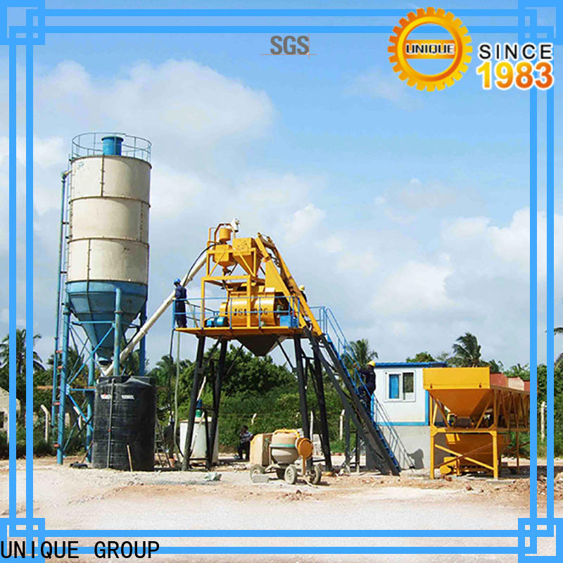 UNIQUE batching plant manufacturer for road