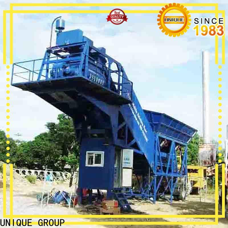 UNIQUE anti-interference concrete batching plant price at discount for road