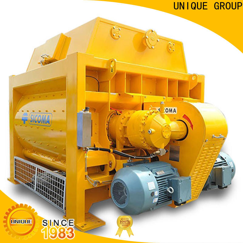 UNIQUE cement mixer machine with water supply system for concrete products