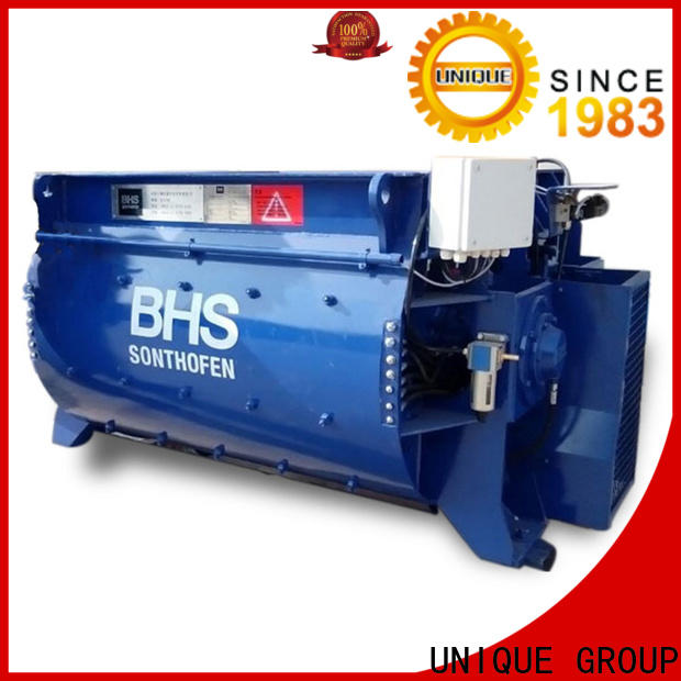 long lasting concrete mixer for sale with water supply system for concrete products