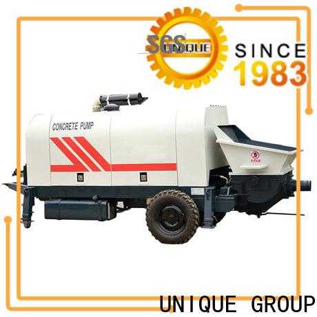 mature concrete trailer pump online for roads
