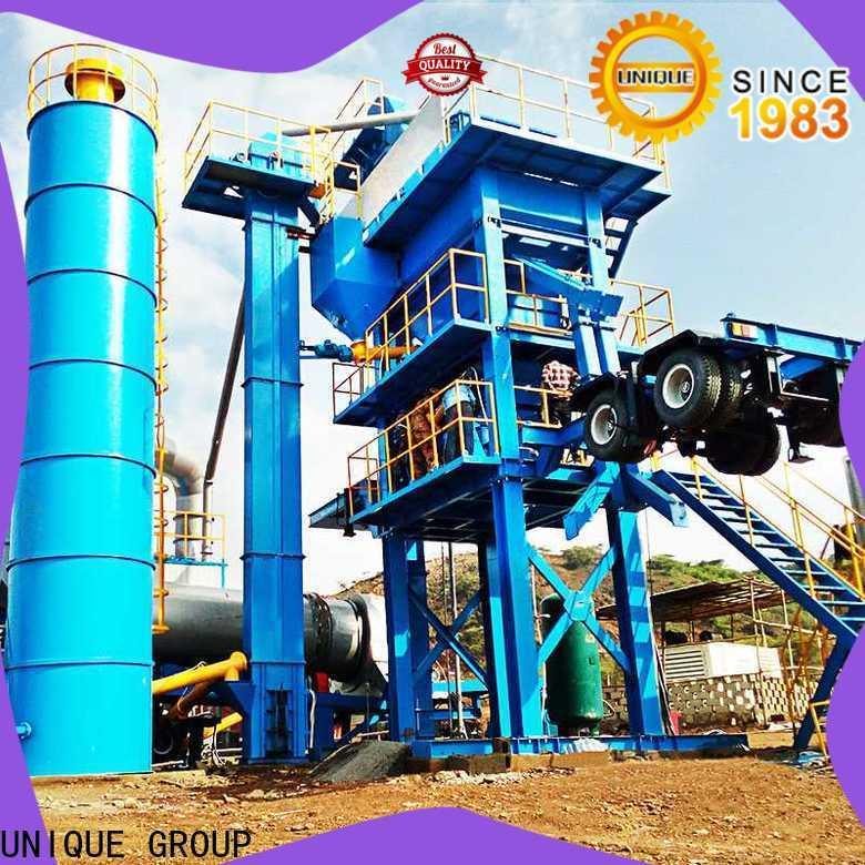 professional asphalt concrete mixing plant manufacturer for city road