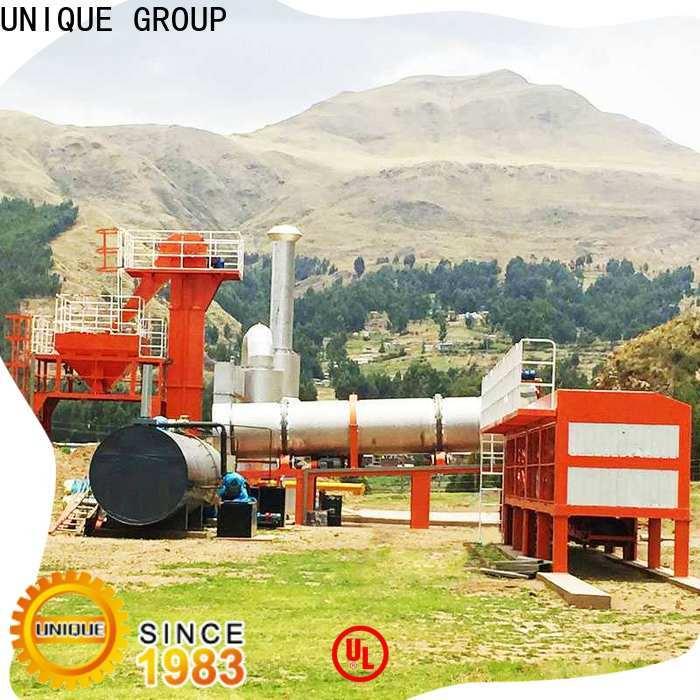 UNIQUE continuous asphalt drum mix plant directly sale for highway