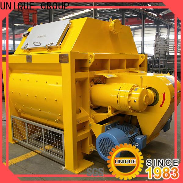 UNIQUE concrete mixing equipment supplier for hard-dry concrete