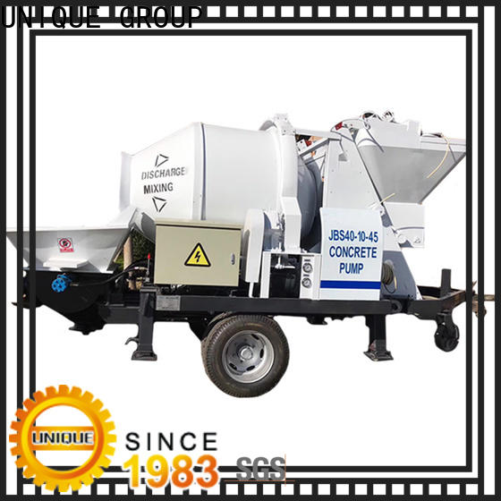 UNIQUE concrete pumping machine directly sale for water conservancy