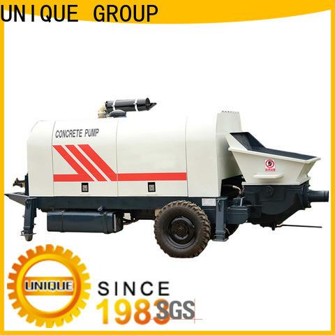 UNIQUE concrete pumping equipment supplier for water conservancy