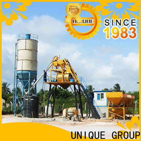 economical batching plant promotion for road