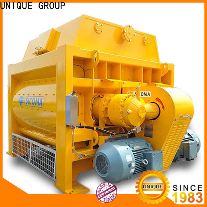 UNIQUE stronger cement batching plant with water supply system for hard-dry concrete