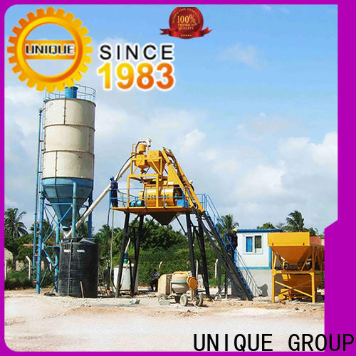 engineering batching plant supplier for sea port
