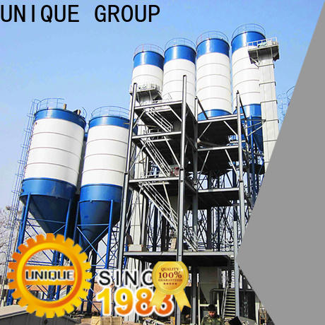 UNIQUE compact structure dry mix mortar plant energy-saving for plant