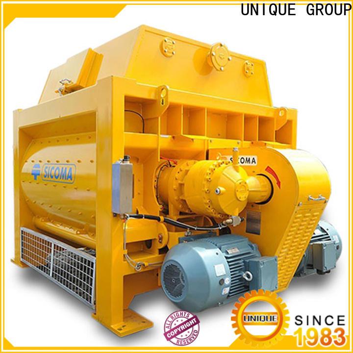 UNIQUE easy use sicoma mixer supplier for concrete products