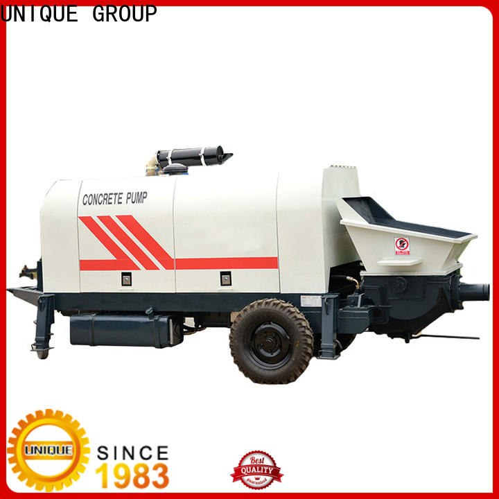 stable concrete trailer pump online for water conservancy
