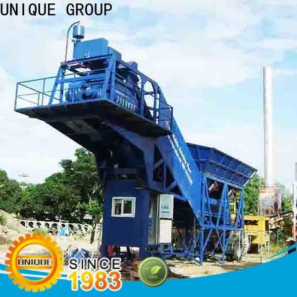 efficient mobile concrete plant at discount for air port