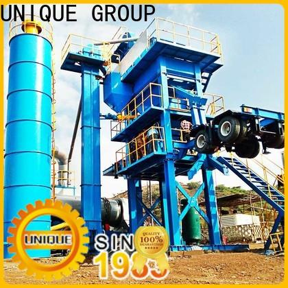 UNIQUE asphalt concrete mixing plant manufacturer