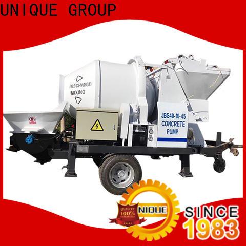 UNIQUE concrete trailer pump online for roads