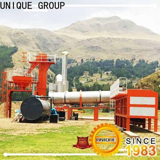 UNIQUE asphalt batching plant factory price