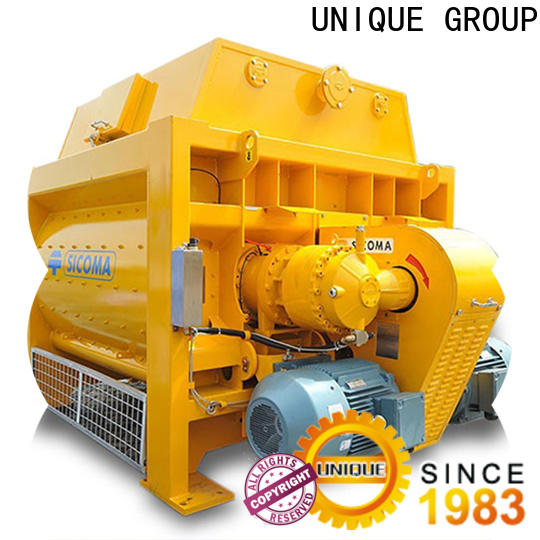 higher efficiency mobile concrete mixer with feeding system for light aggregate concrete