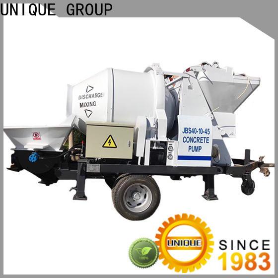 UNIQUE professional concrete pump supplier for water conservancy