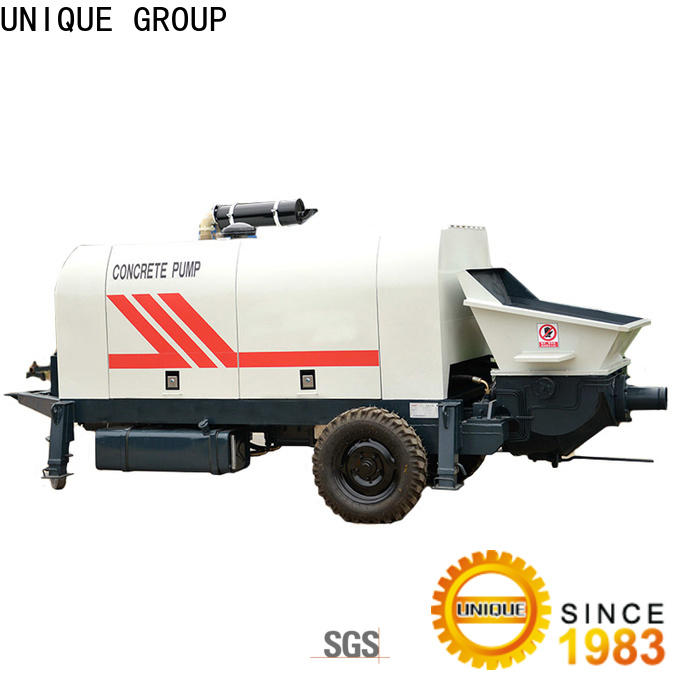 high quality concrete pumping equipment supplier for railway tunnels