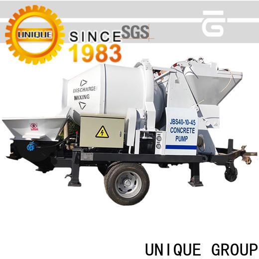 UNIQUE concrete trailer pump directly sale for railway tunnels