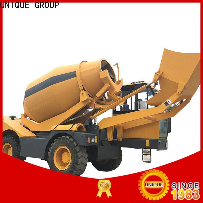 UNIQUE concrete mixer truck cost-saving for project