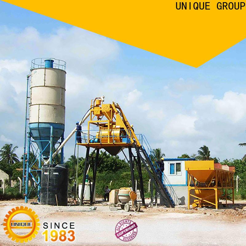 UNIQUE commercial concrete batching plant manufacturer for road