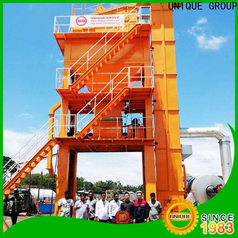 UNIQUE continuous mobile asphalt plant supplier