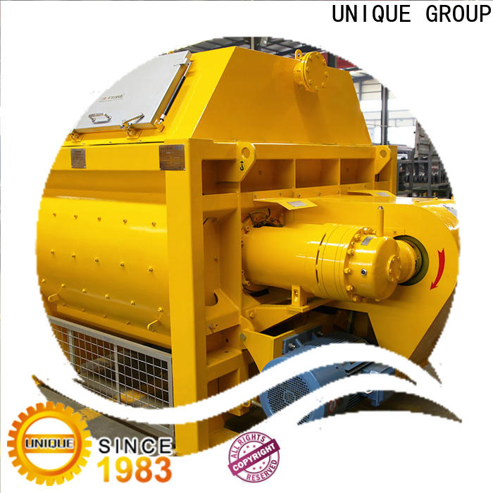 higher efficiency cement mixer machine supplier for concrete products