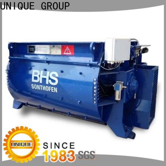 UNIQUE cement mixer equipment supplier for light aggregate concrete